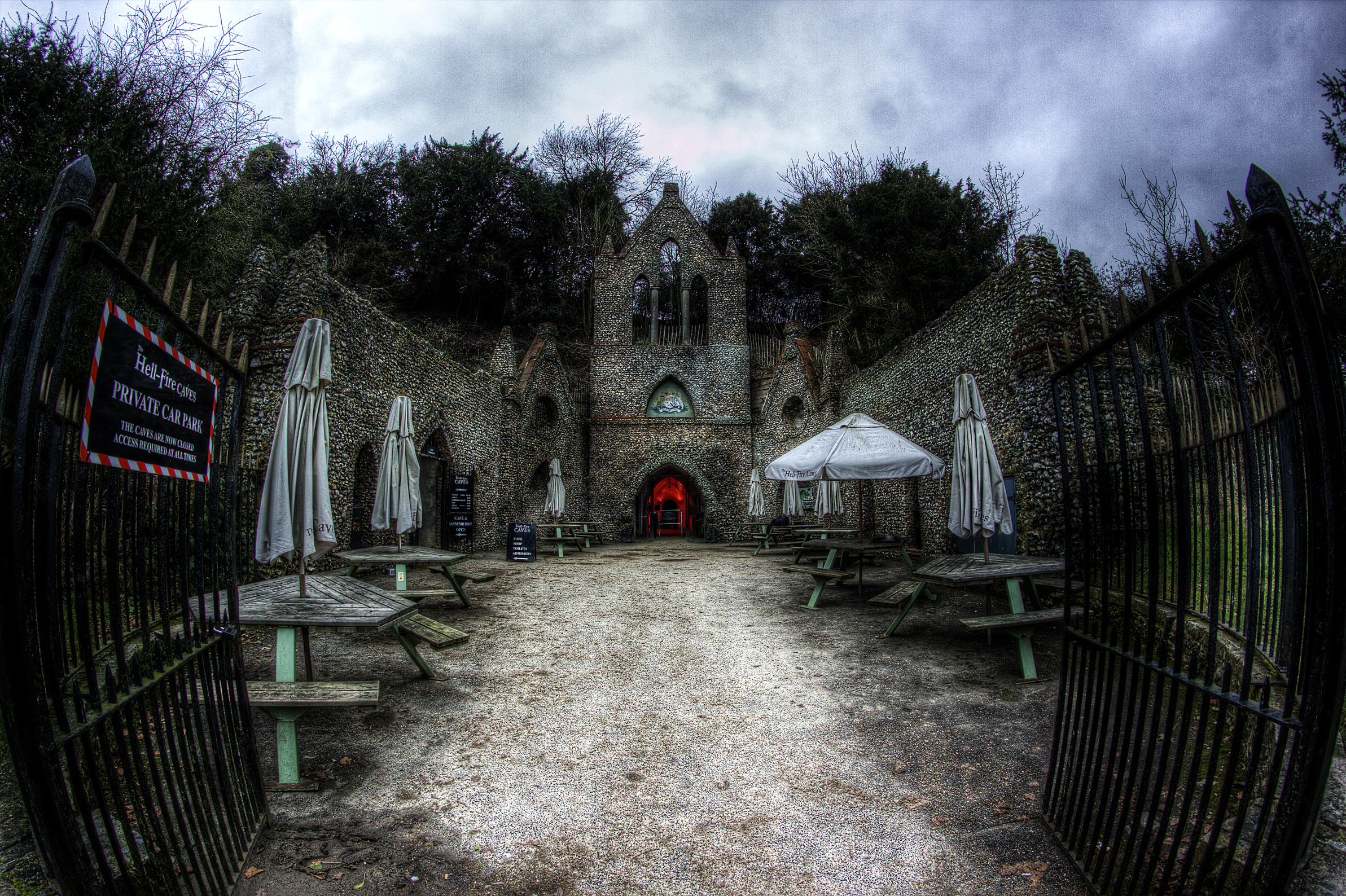 Hell Fire Caves Ghost Hunts with Haunting Nights