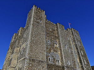 Dover Castle with Haunting Nights